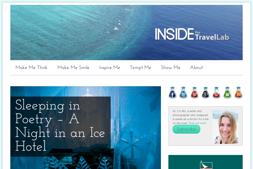Inside the Travel Lab Top Luxury Blog