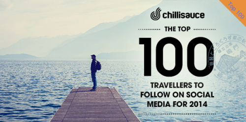 100 best travellers on social media