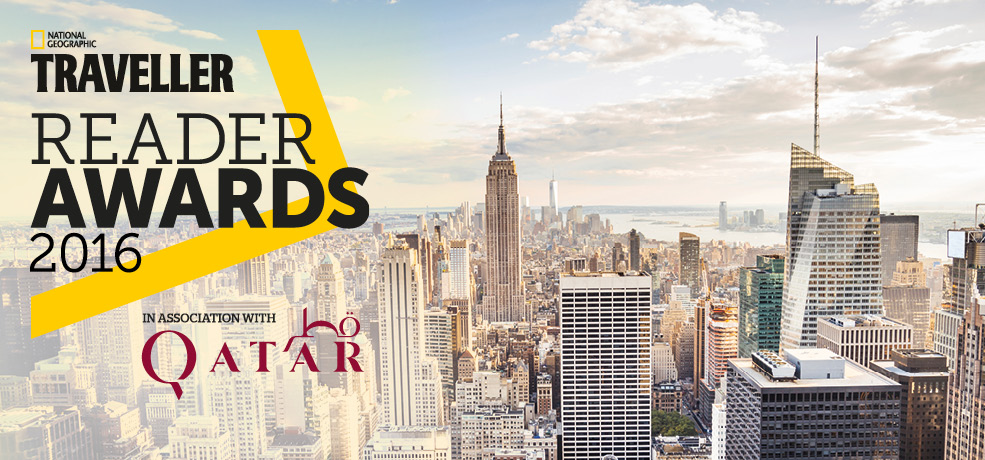 National Geographic Traveller Reader Awards 2016