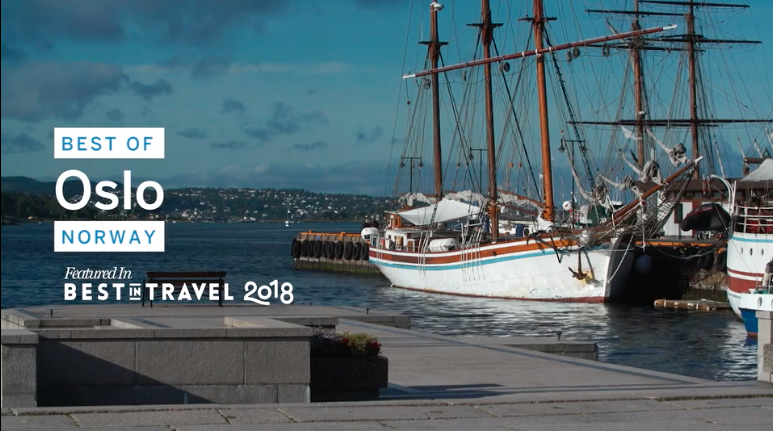 Oslo Best in Travel Lonely Planet Video Cover Shot