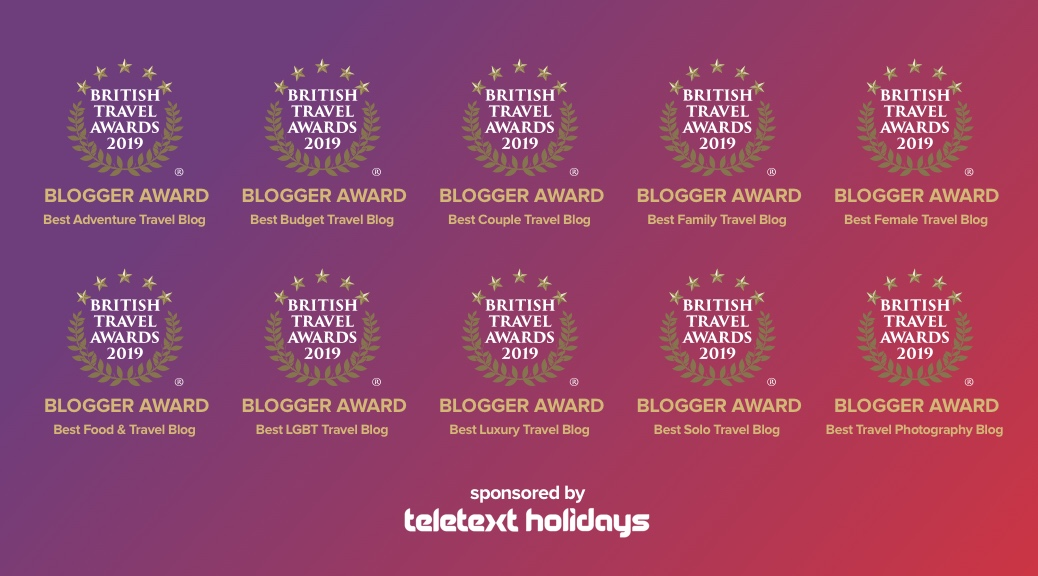 Best Travel Blogger Award
