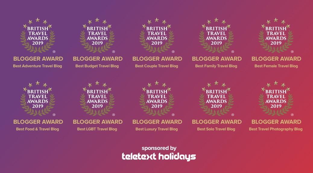 Best Travel Blogger Award